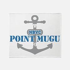 CA Point Mugu 2 Throw Blanket