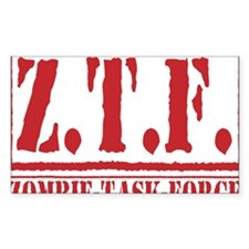 Cool Zombie survival guide Decal