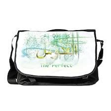 Al-Quddus_white Messenger Bag