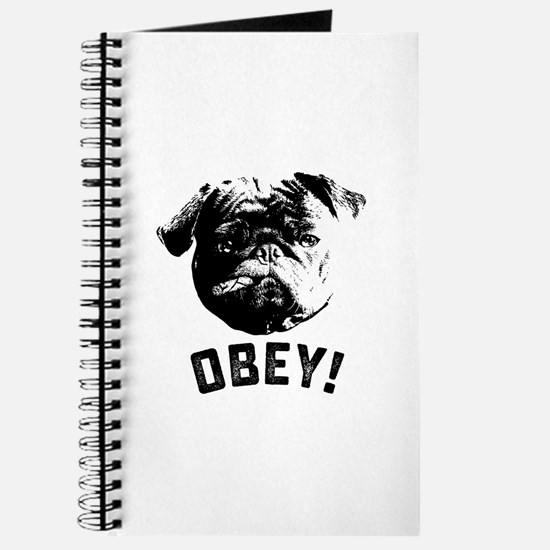 Obey The Pug Journal
