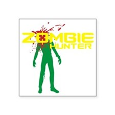"Cute Zombieland Square Sticker 3"" x 3"""