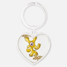 10-10 Heart Keychain