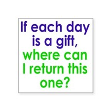 "gift1 Square Sticker 3"" x 3"""