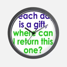 gift1 Wall Clock