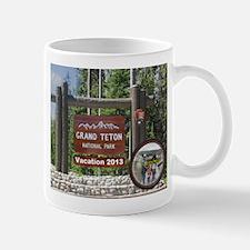 DIY Photo Souvenir From Grand Tetons Mugs