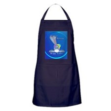 Easter Delivery circle Apron (dark)