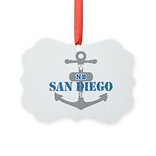 CA San Diego 2 Ornament