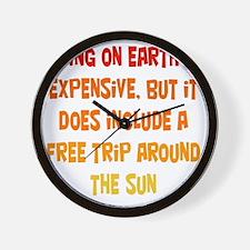 living-on-earth1 Wall Clock