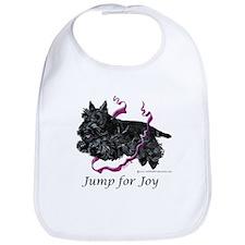 Jump for Joy Scottie Bib