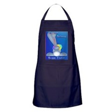 Easter Delivery Poster Apron (dark)