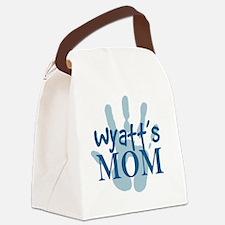 WyattMomSQ Canvas Lunch Bag