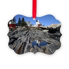 Reflection Note Card Picture Ornament