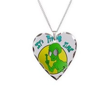 probing Necklace Heart Charm