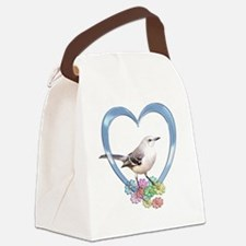 mockheart Canvas Lunch Bag