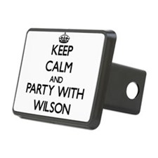 Keep Calm and Party with Wilson Hitch Cover