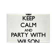 Keep Calm and Party with Wilson Magnets