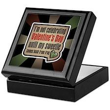 Military Sweetheart Iraq Valentine Keepsake Box