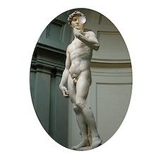 The-David Oval Ornament