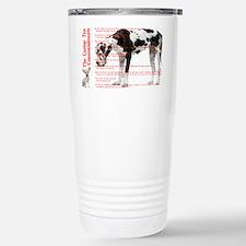 CANINE TEN COMMANDMENTS 36x24 0 Travel Mug