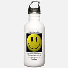 Happiness Water Bottle