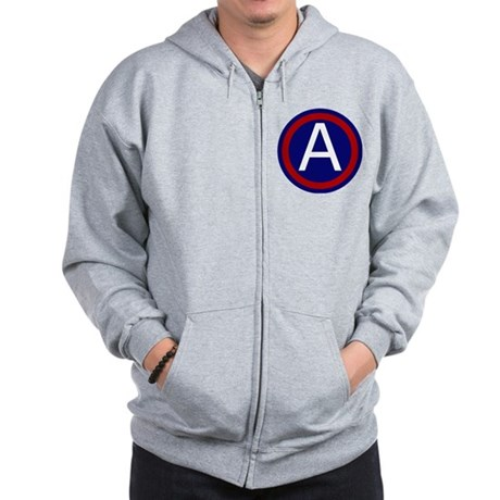 3rd Army - Central - USARCENT Zip Hoodie