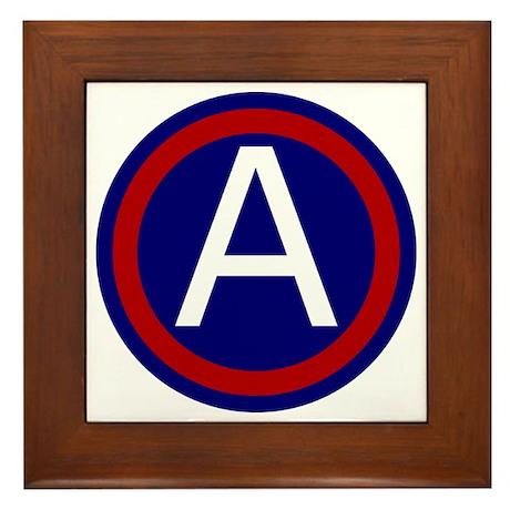 3rd Army - Central - USARCENT Framed Tile