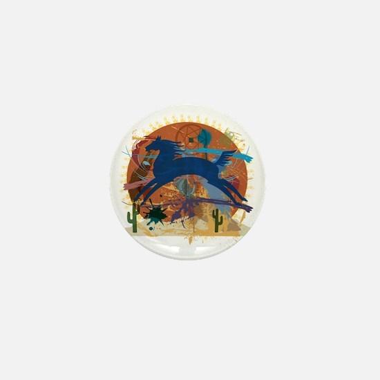 PonyAbstract1 Mini Button