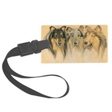 Collie Adults Luggage Tag