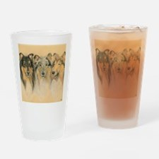 Collie Adults Drinking Glass