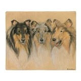 Collie Fleece Blankets