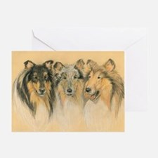 Collie Adults Greeting Card
