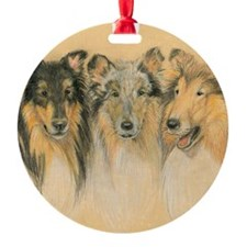 Collie Adults Ornament