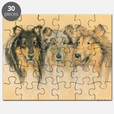 Collie Adults Puzzle