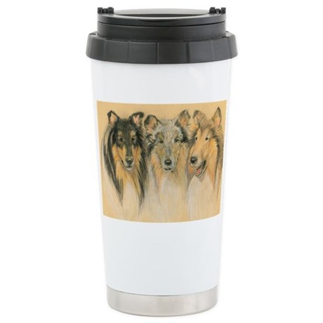 Collie Adults Stainless Steel Travel Mug