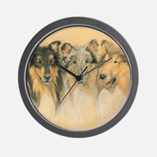 Collie Adults Wall Clock