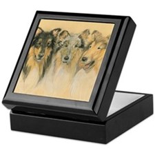 Collie Adults Keepsake Box