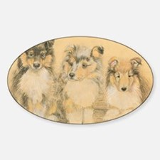 Collie Puppies Decal