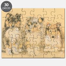 Collie Puppies Puzzle