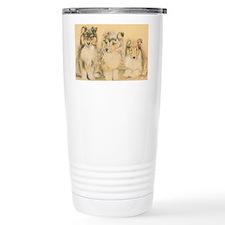 Collie Puppies Travel Mug