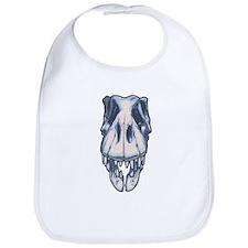 T-Rex Skull Bib