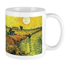 Red Vineyards Wraparound Mug
