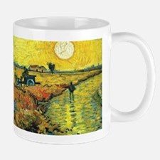 Red Vineyards Wraparound Small Mugs