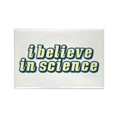 Believe in Science Rectangle Magnet (10 pack)