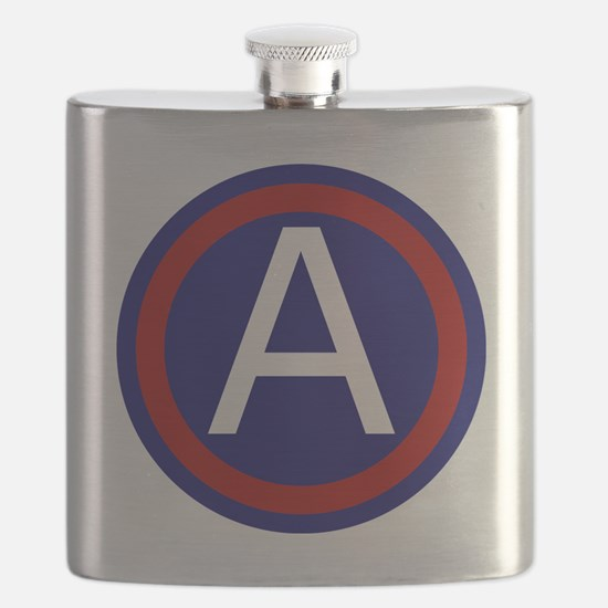 3rd Army - Central - USARCENT Flask