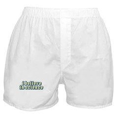 Believe in Science Boxer Shorts