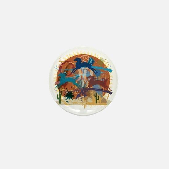 PonyAbstract Mini Button