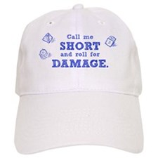 short_damage_light Baseball Cap