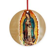 Virgen GuadalupePopZazzlecopy Round Ornament