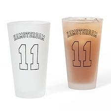 Hamsterdam11-black Drinking Glass