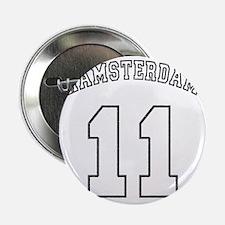 "Hamsterdam11-black 2.25"" Button"